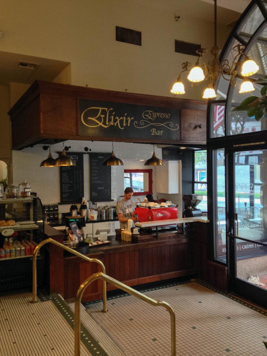 Elixir Espresso Bar Downtown